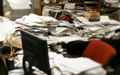 Ideas for Cleaning Out a Home Office