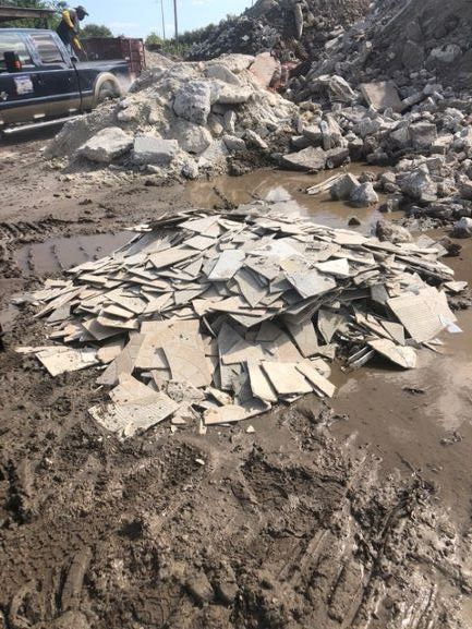 Concrete Demolition and Removal Concrete and Tile Recycling construction waste debris removal Concrete Removal Construction Waste Removal Junk Removal Junk Hauling Clearwater FL Tampa FL St Pete FL